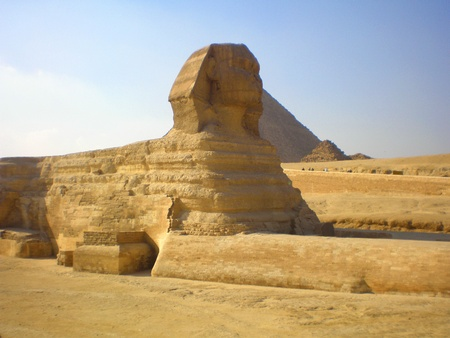 Sphinx in Cairo photo