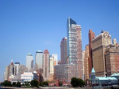 Manhattan on the Hudson River Stock Photo - 18018307