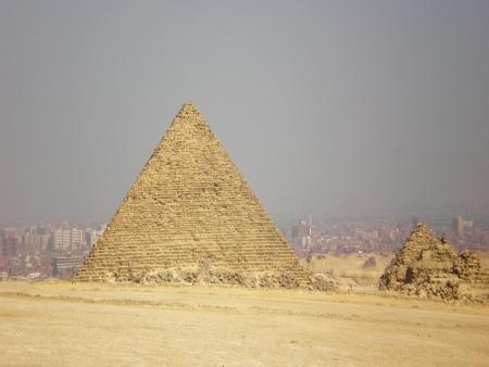 Kairo skyline at hot noon