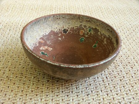 Old etno pottery bowl photo