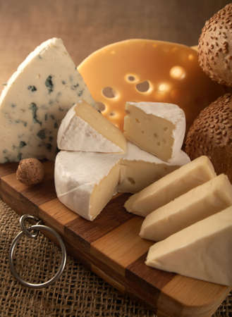 Business a still-life from classical samples of cheese.