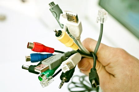 adapters: Dial-up of adapters for the computer with cords