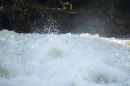 White water spume photo