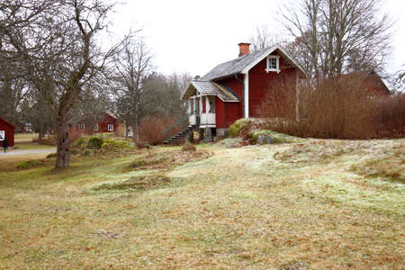distant spot: Rural house in Sweden
