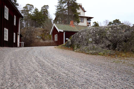 Rural house in Sweden, municipality of Sala in Sweden   photo