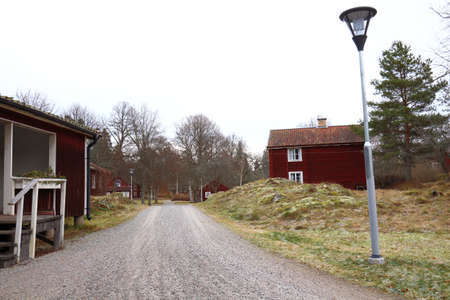 Rural houses in Sweden, municipality of Sala in Sweden   photo