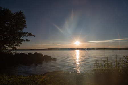 Lake Skagern a serene recreation site for nature lovers photo