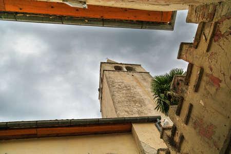 humilde: De septiembre en la ciudad croata de Porec Foto de archivo