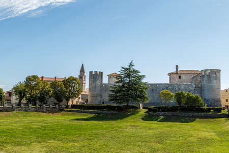 fastness: Croatian ancient site views. Old fortress Editorial