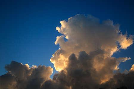 humilde: nubes sobre la península de Troia en Portugal