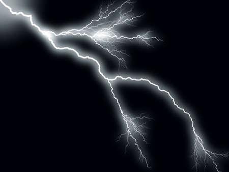thundering: Thunderbolt storm lightning