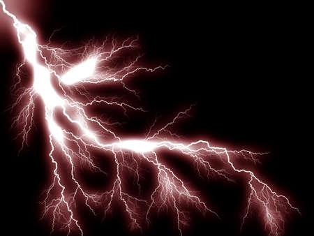 Thunderbolt storm lightning