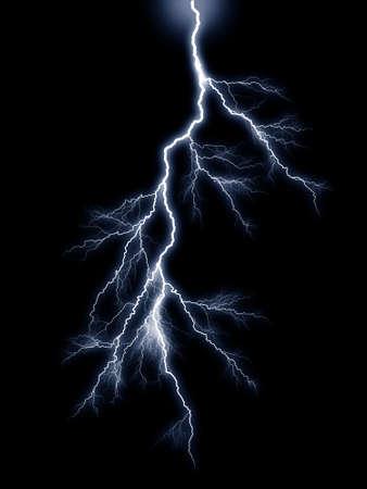 Thunderbolt storm lightning photo