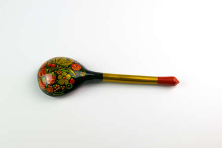 Painted wooden spoons Russian Khokhloma