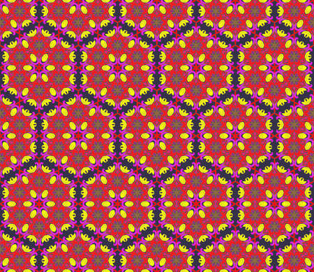 Seamless pattern in arabic or indian style. Arabesque mandala indian motif retro vintage