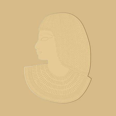 Elegant vintage terracotta retro bas-relief. Design vintage romantic Vecteurs