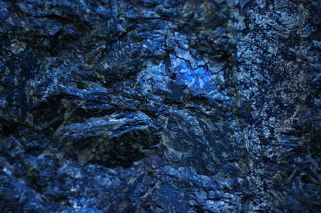 Blue Granite slab closeup background and texture