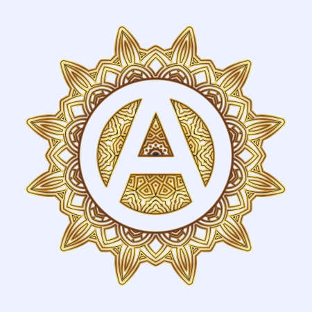 Signs inscribed in geometric mandala or arabesque. You can create stunning foiled, sketched, embossed or engraved projects for yourself, as a personalized gift or to sell to your customers