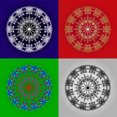 The figure is like a monogram in the form of a mandala. You can create stunning foiled, sketched, embossed or engraved projects for yourself, as a personalized gift or to sell to your customers 일러스트