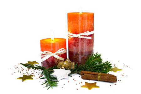 exempted: Christmas decoration with candles