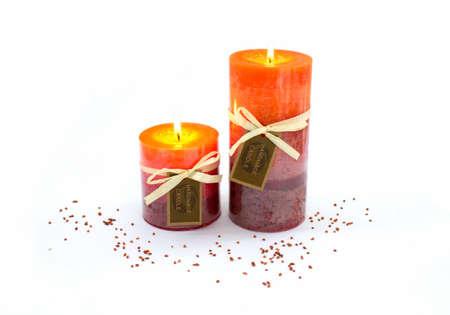 kerzen: Weihnachtsdekoration mit Kerzen Lizenzfreie Bilder