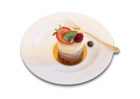 Dessert Plate with fruits