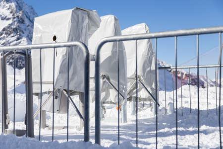 Closed Ski-lift