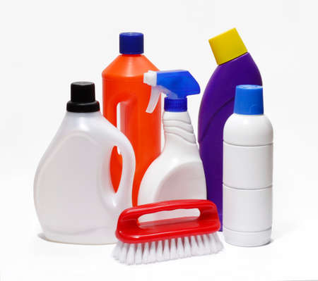 Cleaning supplies Standard-Bild