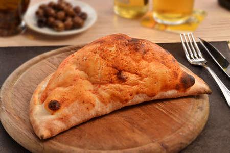 italian dish: Calzone traditional italian dish