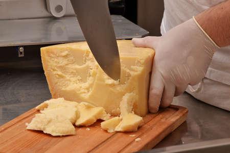 Parmesan: Parmesan cheese.