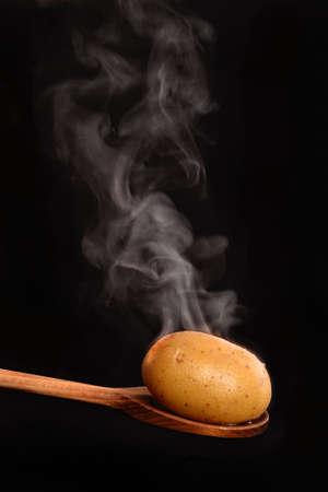 vapor, egg, one, black, wood, smoke, cooking, detail, food, kitchen, ingredient, protein