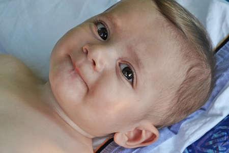 Adorable cute little boy