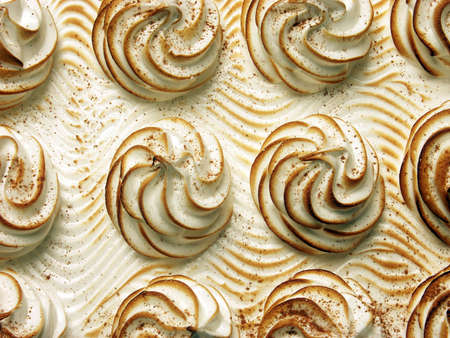 Fresh milk caramel cake. Stock Photo