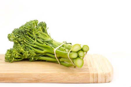 fresh brocolini photo