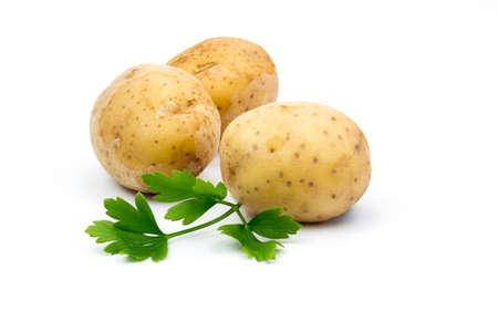 potatoes Archivio Fotografico