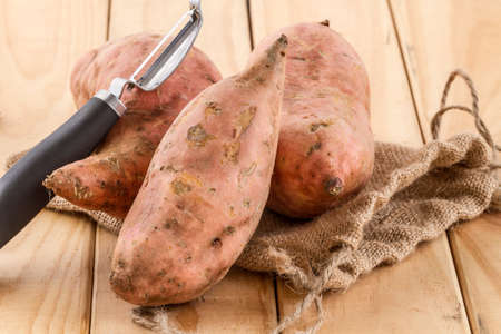 sweet potatoes Archivio Fotografico