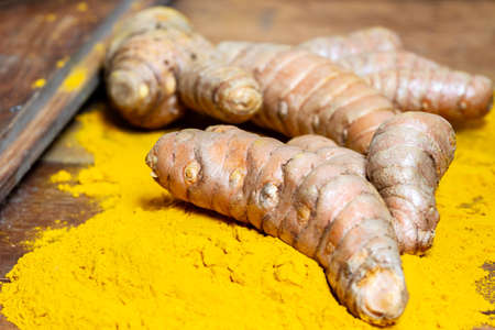 Fresh curcumin root