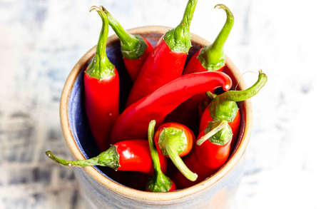 Chilli peppers in a bowl