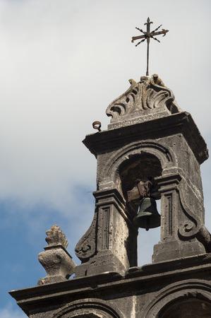 belfry: Catholic belfry Stock Photo