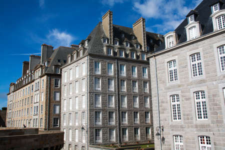 intramural: Buildings intramural Saint Malo, France