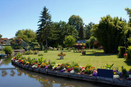 cited: Amiens - The Hortillonnages ou ll water gardens in Picardy - France