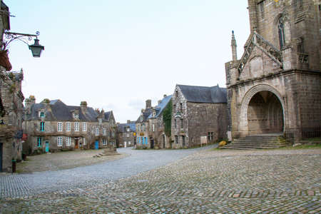 cited: Instead of Locronan in Brittany Brittany - France