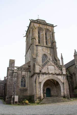 cited: Church and chapel st Ronan Penity Locronan in Brittany Brittany - France