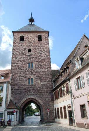 cited: Fortification, Gate Smiths Molsheim, Bas Rhin, Alsace