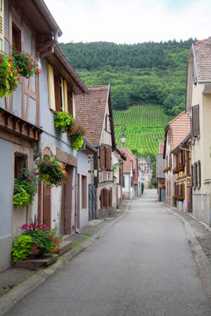 cited: In the streets of Chatenois, Bas Rhin, Alsace