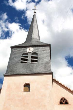 Saint Stephen Wangen Church in the Bas Rhin, Alsace photo