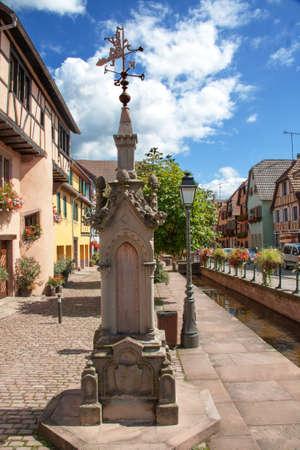 Ribeauvill city center, Alsace, Haut Rhin photo