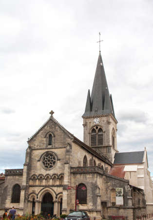 the church of our lady: Church Our Lady of Virtues has Ligny en Barrois, Meuse
