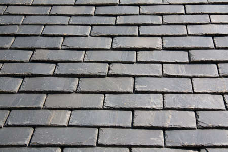 Roofing \ 's slate Britain Finistre