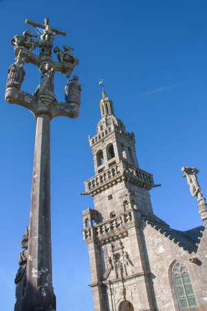 Chapelle Sainte-Marie-du-Menez-Hom, 1570, Finistere, Brittany photo